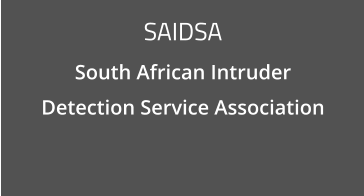 SAIDSA South African Intruder  Detection Service Association